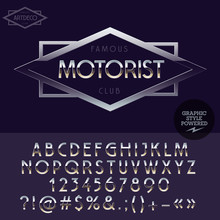 Silver Elite Logotype For Moto...