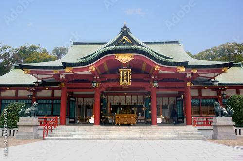 Cadres-photo bureau Edifice religieux 西宮えびす神社