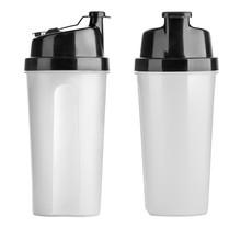 Plastic Shaker Isolated On Whi...