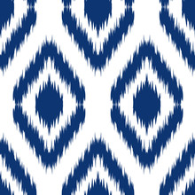 Ikat Ogee Background 10