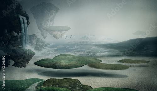 Fotografie, Obraz  fantasy landscape