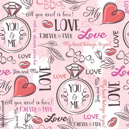 rozowe-tlo-z-sercem-valentine-kwiat