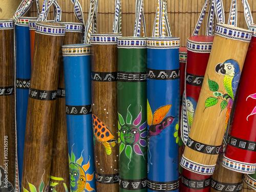 Andean crafts Canvas Print