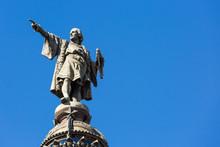 Statue Of Christopher Columbus...