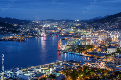 Foto op Aluminium Kust 長崎の夜景
