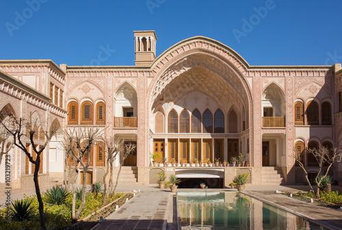 Photographie  Khan-e Ameriha historic house in Kashan, Iran