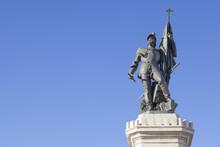 Statue Of Hernan Cortes, Medel...