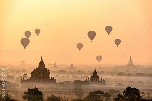 Fotografia  Bagan City of Pagoda