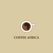Coffee Africa. Symbol cafe Africa