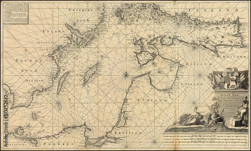 stara-mapa-morza-baltyckiego