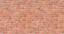 Seamless Texture Of An Old Red Brick Wall, Tile, Header, Grunge - Nahtloses Muster Einer Alten Ziegelmauer. Suitable For Fotolia Images #103143054, #103258211, #103259468 And #103336639