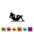 Sport exercise icon