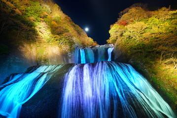 Obraz na Szkle Wodospad Fukuroda Falls 袋田の滝