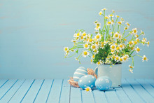 Easter Holiday Decoration With...
