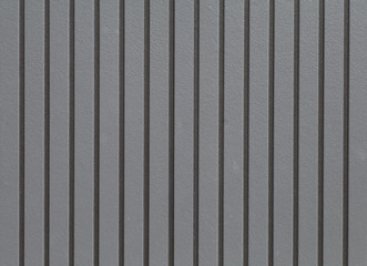 Black corrugated metal background and texture surface.