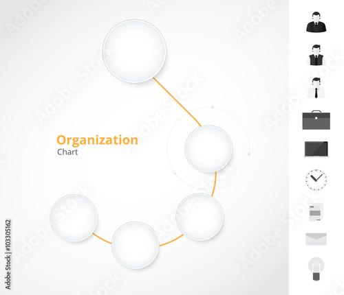 simple organization chart template