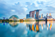 Singapore Skyline And View Of ...