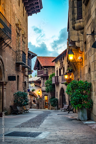A street of old