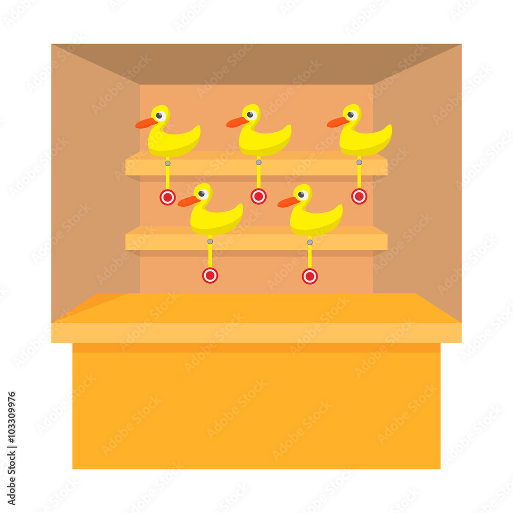 photograph relating to Printable Turkey Target identified as Picture Artwork Print Taking pictures recreation with duck emphasis cartoon
