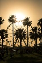 Ferris Wheel Sunset. Ferris Wh...