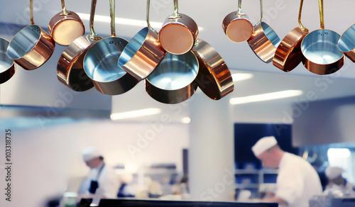 Foto op Plexiglas Restaurant Restaurantküche