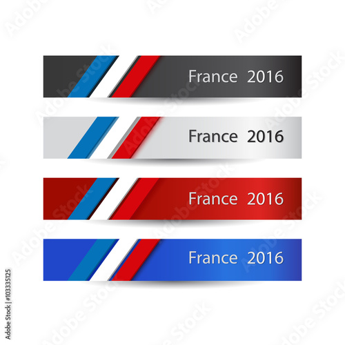 France in 2016 Canvas Print