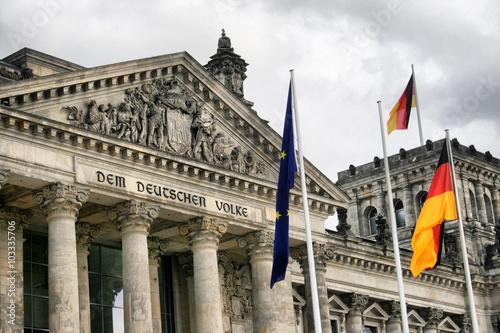 Fotografia  Berlin - Raistag Parlament