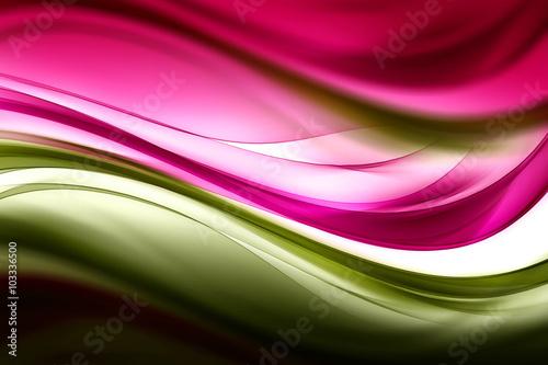 abstrakcjonistyczna-piekna-ruch-fala-zielona-i-purpurowa-tlo-dla-projekta-nowoczesny-jasny-cyfrowy