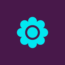 Flower Flat Vector Icon