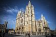 Catedral Gótica de León, Castilla León, España