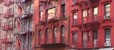 Fototapeta Nowy Jork - New York City / Fire escape