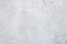 Stucco White Wall Background T...