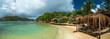 Pinel island, Caribbean sea