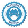 Logo port du masque obligatoire.