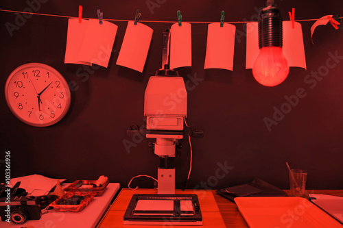 Fotomural Darkroom printing photos
