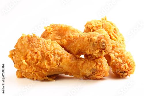 Fotografía  hot and crispy fried chicken