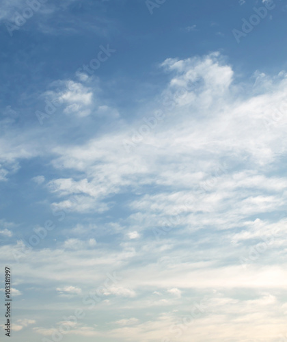Canvas Prints Heaven sky
