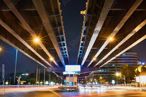 Urban Street Background. Transportation In Bangkok City, Thailan