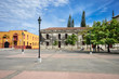 The main Plaza of the colonial city of Leon, Nicaragua