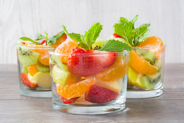 FototapetaFresh fruit salad