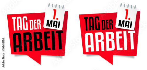 1. Mai Tag der Arbeit - Buy this stock vector and explore ...