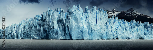 Printed kitchen splashbacks Glaciers Patagonia