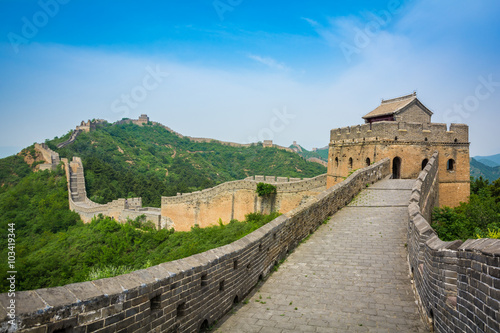 Foto auf Leinwand Chinesische Mauer The Great Wall, Beijing, China