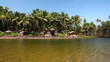 Tropical resort in India