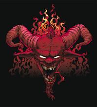 Devil On Hell Stone.  Mythol...