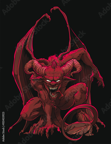 Stampa su Tela Devil