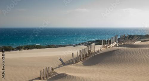 Fotografía  Düne in Tarifa, Andalusiien