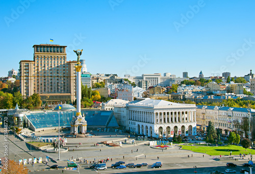 Foto op Canvas Kiev Independence Square. Kiev, Ukraine