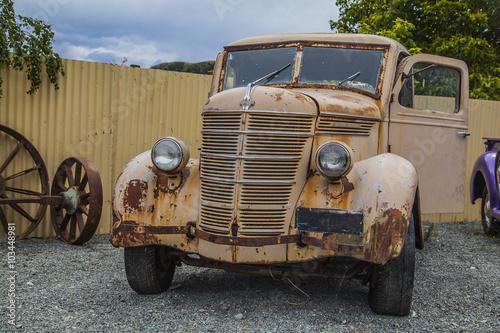 Papiers peints Route 66 Oldtimer in Neuseeland