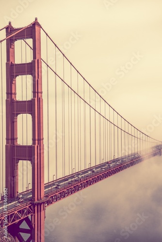 Fotografering  Golden Gate Fog